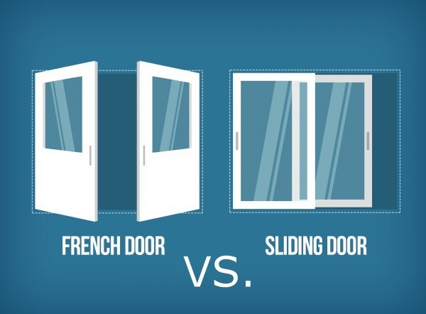 french door vs sliding glass door & French Doors versus Sliding Glass Doors | My Coastal Windows