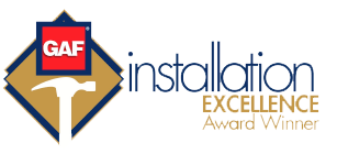 GAF Installation Excellence Award Winner