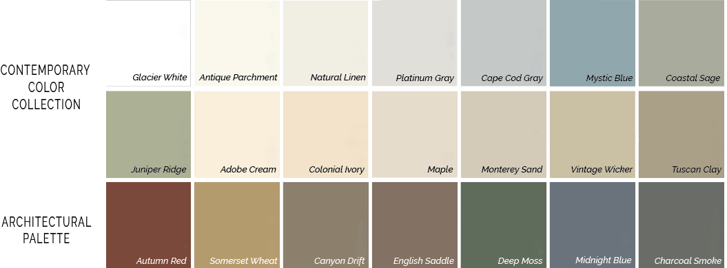 alside siding colors