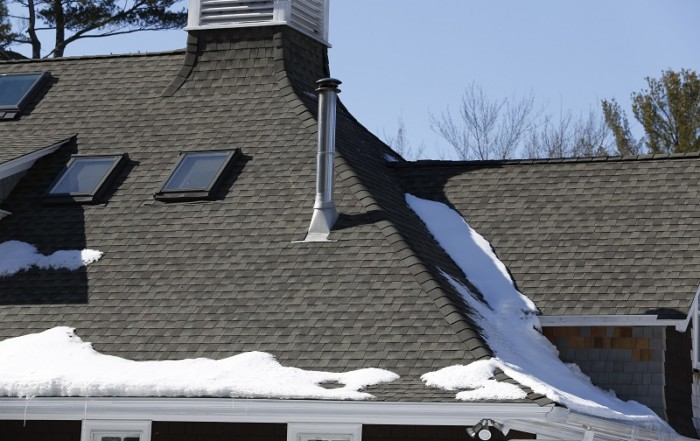 New GAF roof in Manchester MA