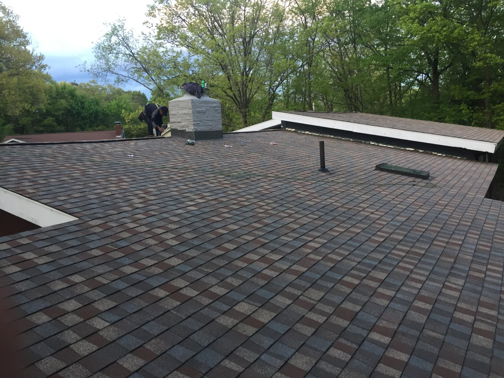 completed rooftop replacement project